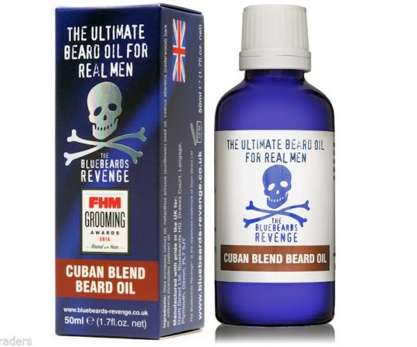 The Bluebeards Revenge 50 ml Cuban Blend Beard Oil