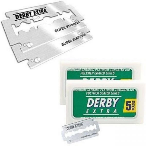 Derby Extra Double Edged Razor Blades – 10 Pack
