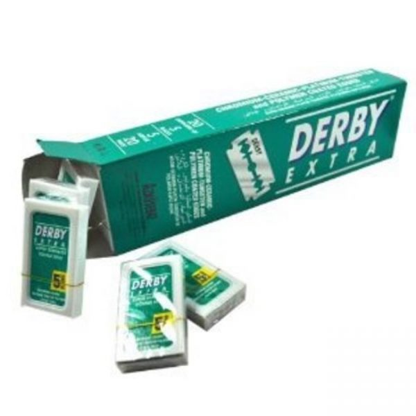 Derby Extra Double Edge Razor Blades - 100 pack