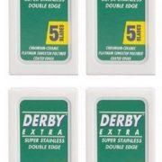 Derby Extra Double Edged Razor Blades - 20 Pack