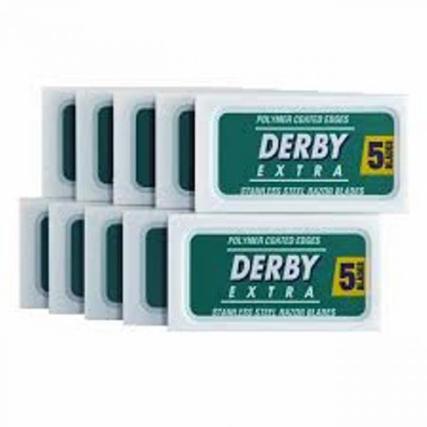 Derby Extra Double Edge Razor Blades - 50 Pack