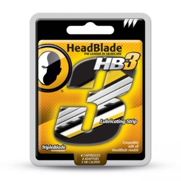 HeadBlade Replacement Triple Blades Kit - 4 Pack