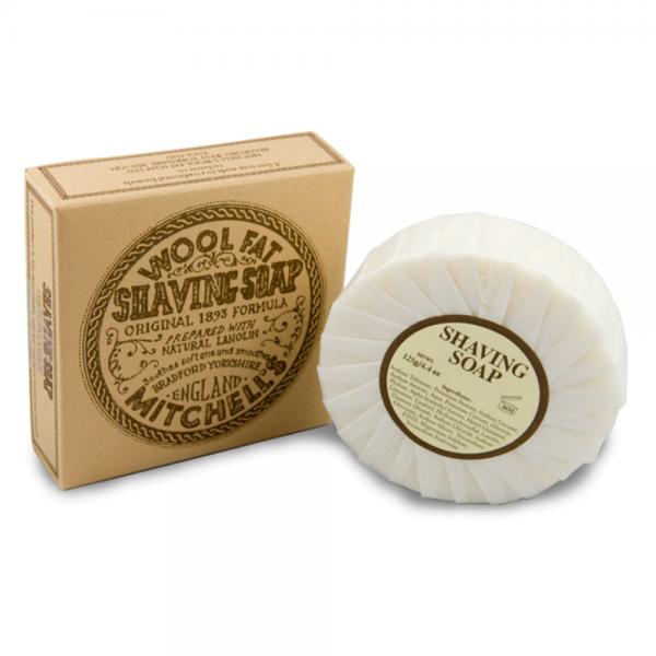 Mitchells Wool Fat Shaving Soap Refill (125 g)