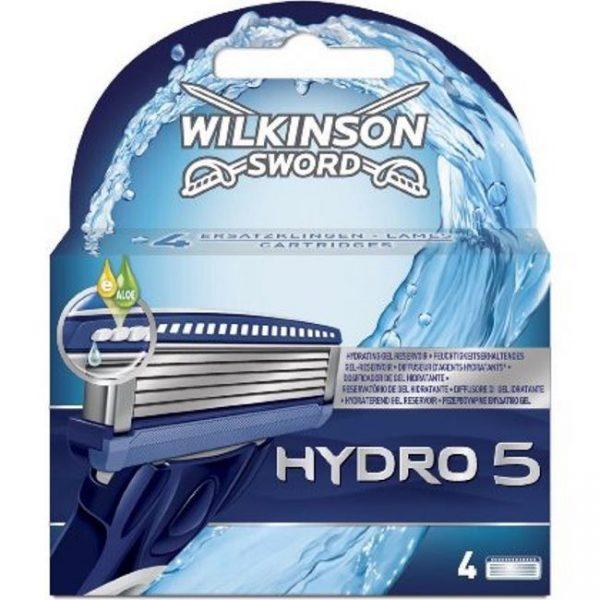Wilkinson Sword Hydro 5 Blades Refill - 4 Pack