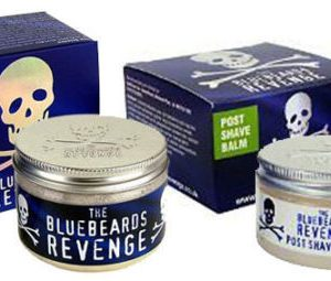 The BlueBeards Revenge Post Shave Balm And Luxury Shaving Cream Tubs 100 ML Each