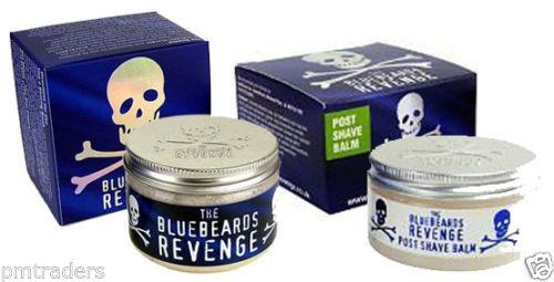 The BlueBeards Revenge Post Shave Balm And Luxury Shaving Cream Tubs 100 ML Each