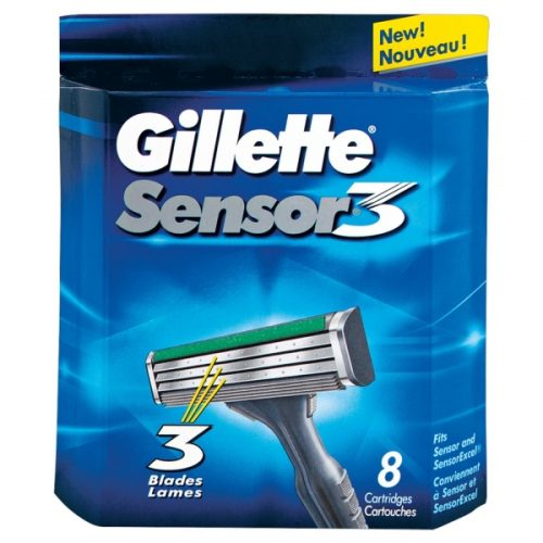 Gillette Sensor3 Razor Blades 8-pack