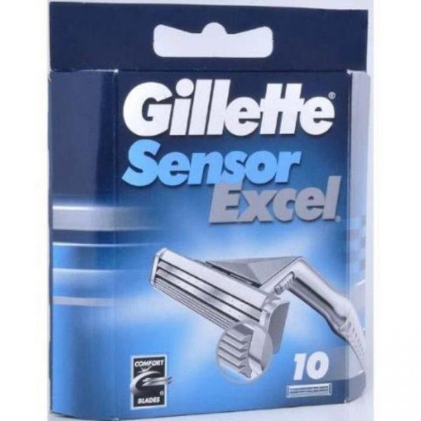 Gillette Sensor Excel Blades - 10 Pack