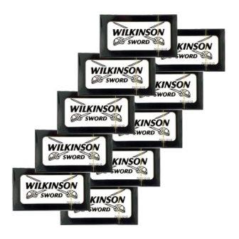 50 Wilkinson Sword Classic Double Edge Safety Razor Blades