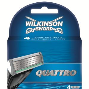 Wilkinson Sword Quattro Plus Blades - 4 Pack