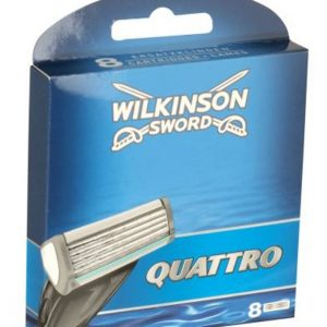 Wilkinson Sword Quattro Plus Blades - 8 Pack
